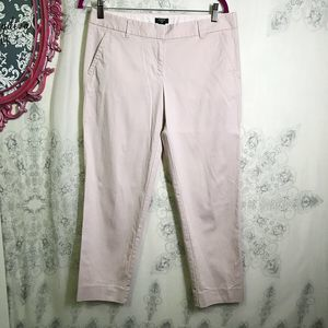 J Crew City Fit Stretch Pants Twill Chino Trousers